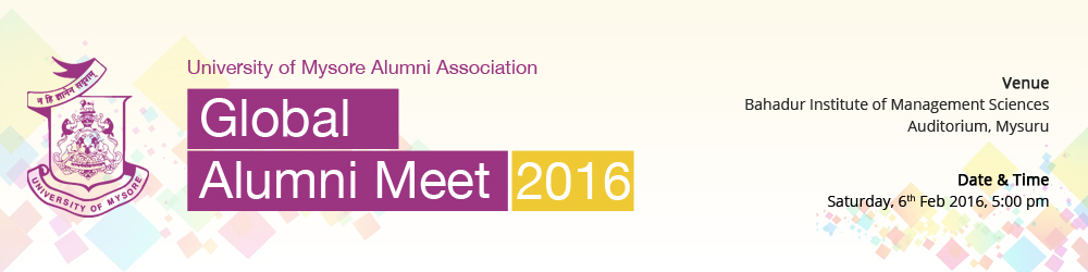 UMAA Global Alumni Meet 2016