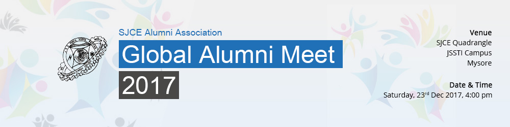 SJCE Global Alumni Meet - 2017